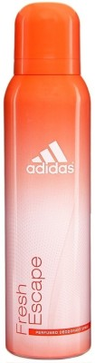 Buy Adidas Fresh Escape Deo Spray  -  150 ml: Deodorant
