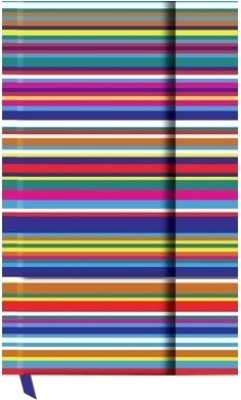 Buy Designwallas Purple Magnet Stripe A-6 Hard Bound: Diary Notebook