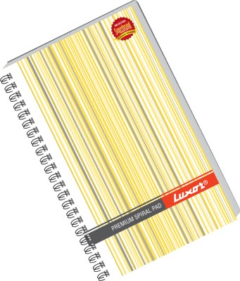 Buy Luxor 33 (Pack of 4) A5 Notebook Spiral Binding: Diary Notebook