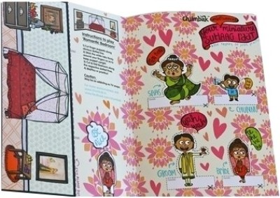 Buy Chumbak Pyar Vyar with Puppets A4 Notebook Soft Bound: Diary Notebook