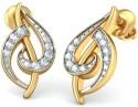 BlueStone The Cadenza Yellow Gold Drop Earring