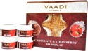 Vaadi Chocolate & Strawberry SPA Facial Kit 70 Ml - Set Of 5