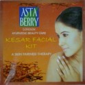 Astaberry Kesar Facial Kit - Set of 4