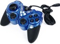 Live Tech Lt Game With Vibration Gamepad - Blue, For PC, PS3, PSP