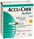 Accu-Chek Active Test Strips - 100 Glucometer