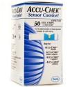 Accu-Chek Sensor Comfort Test Strips - 50 Glucometer