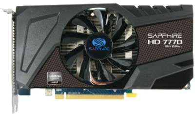 Buy Sapphire AMD/ATI HD 7770 1 GB GDDR5 Graphics Card: Graphics Card