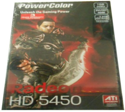 Buy PowerColor AMD/ATI Radeon HD5450 1 GB DDR3 Graphics Card: Graphics Card