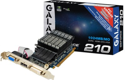 Buy Galaxy NVIDIA GeForce 210 1 GB DDR3 Graphics Card: Graphics Card