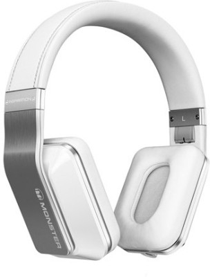 Monster MH INS OE WH NC CUA WW Inspiration Active Noise Cancelling Over-the-ear Headset (White)