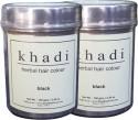 Khadi Herbal Hair Color Black (Twin Pack) - 300 G