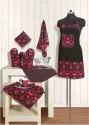 Swayam Grillz Kitchen Linen Set - Pack Of 8 - KLSDMEVB5UCYMZYA