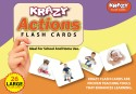 Mind Wealth Krazy Actions Flash Cards - Orange, Purple, Yellow