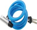 Btwin SP5 Key Spiral Lock - Blue