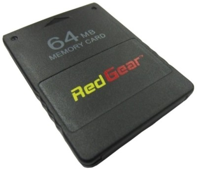 Buy Red Gear 64 MB Memory Card for PS2: Memory Card