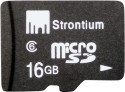 Strontium Memory Card 16 GB MicroSD (Class 6) With Adapter