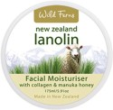 Wild Ferns Lanolin Facial Moisturiser with Collagen & Manuka Honey - 175 ml