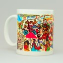 Chumbak Bazaar Mug - Multi Colour, Pack of 1