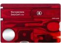 Victorinox Swiss Card Lite Ruby Swiss Knife - Transculent Red