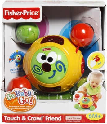 Buy Fisher-Price Go Baby Go Touch and Crawl Friend: Musical Toy
