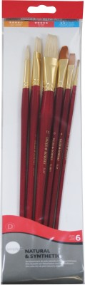 Buy Daler-Rowney Round, Bright, Flat, Filbert Paint Brushes: Paint Brush