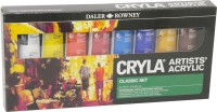 Daler-Rowney Cryla Acrylic Color Paints Set: Paint