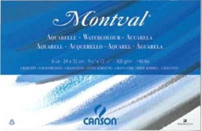 Buy Canson Aquarelle Water Color Paper: Paper