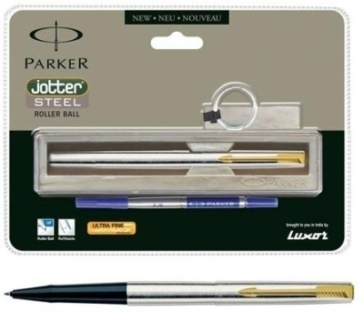 Buy Parker Jotter Stainless Steel GT Roller Ball Pen: Pen