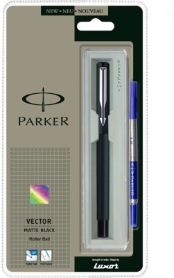 Buy Parker Vector Matte Black Roller Ball Pen: Pen