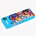 Warner Bros. Looney Tunes Plastic Pencil Boxes - Set Of 1, Blue, Red
