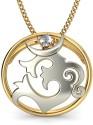 BlueStone The Aashish Gold Pendant