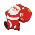 Smiledrive Santa Claus Shaped USB 16 GB USB 2.0 Fancy Pendrive - Multicolor