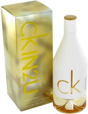 Buy Calvin Klein In2u EDT  -  100 ml: Perfume