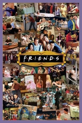 Buy Friends - Montage Paper Print: Poster