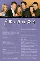 Friends - Everything I Know Paper Print: Poster