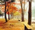 Forest Path Canvas - Medium