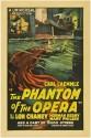 The Phantom Of The Opera - 1925 Paper Print - Medium, Rolled