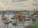 Bridge At Argenteuil By Claude Monet Fine Art Print - Large