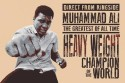 Muhammad Ali - Greatest Of All Times Paper Print - Medium, Rolled