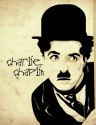 Chaplin - Vector Art Paper Print - Small, Rolled