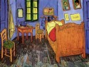 Vincent's Bedroom In Arles Paper Print - Small, Rolled