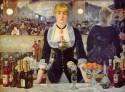 A Bar At The Folies Berg?re By Edouard Manet Fine Art Print - Medium