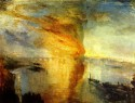 The Burning Of The Houses Of Parliament By JMW Turner Fine Art Print - Medium