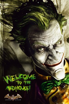 Buy Batman Arkham Asylum Joker Paper Print: Poster