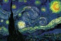 Starry Night By Vincent Van Gogh Paper Print - Small, Rolled