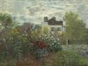 The Artist's Garden In Argenteuil (A Corner Of The Garden With Dahlias), 1873 By Claude Monet Fine Art Print - Medium
