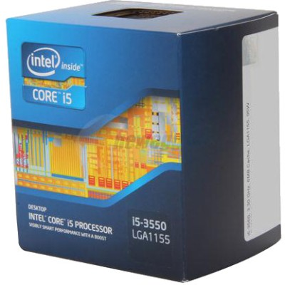 Buy Intel 3.3 GHz LGA1155 Core i5 3550 Processor: Processor