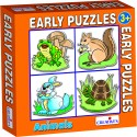 Creative's Early Puzzles - Animals - 18 Pieces