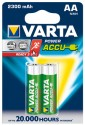 Varta Power Accu AA Size Ni-MH 2300 MAH (2 Pcs) Rechargeable Battery