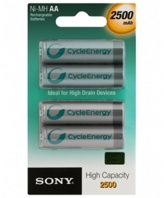 Buy Sony NH-AA-B4EN Rechargeable Ni-MH Battery: Rechargeable Battery